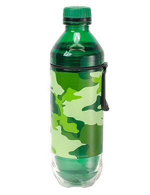 Cool Gear Soda Bottle 18oz Bam-O Camo